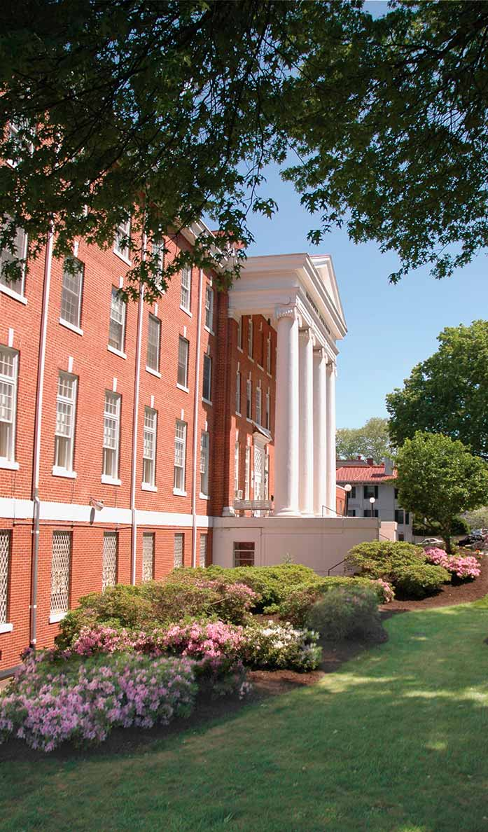 Averett Alumni building